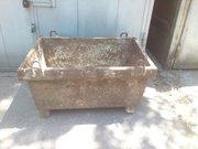 Продаю металлический ящик для раствора.